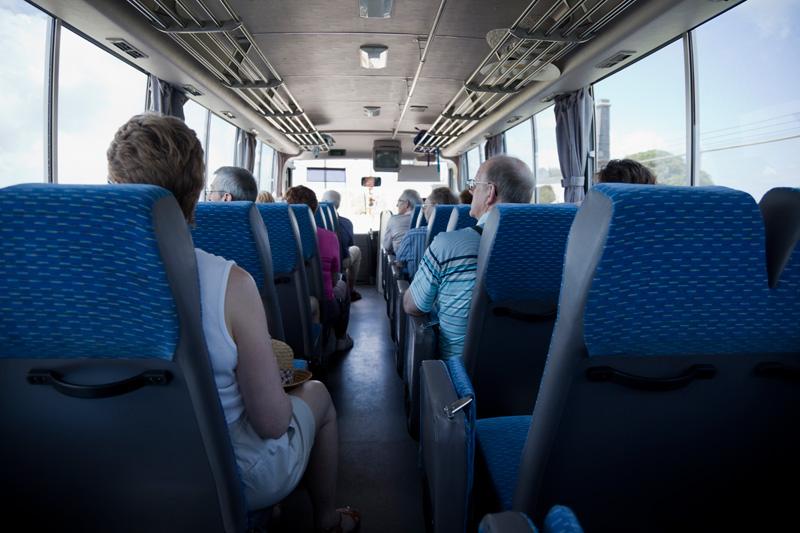 30 Seater Coach passenger compartment