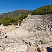 Ancient amphitheater of Epidaurus