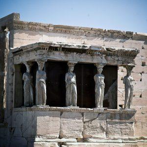 The Caryatids, Acropolis