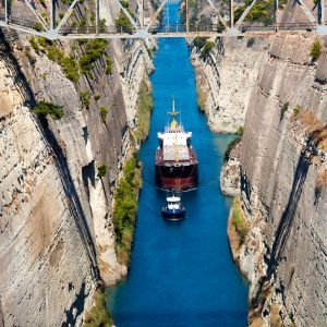 The Isthmus of Corinth