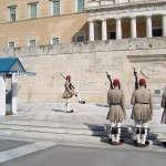 Changing of the Guard ceremony at the Tomb of the Unknown Soldier, Hellenic Parliament, Syntagma