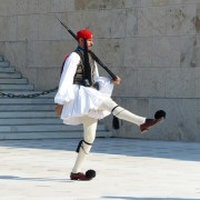 Evzone Soldier, Greek Parliament, Syntagma