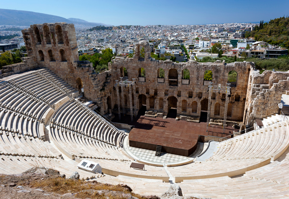 Athens Tours - Theatre of Herodes Atticus