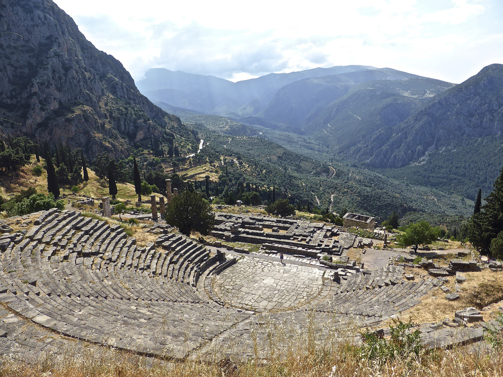 The Ancient Theatre Delphi